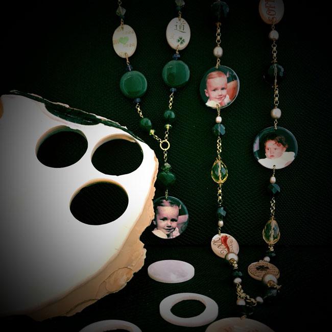 Tajani gioielli realizzati con l'utilizzo della madreperla australiana