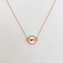 GIROCOLLO MICRO-POIS I LOVE YOU €295,00